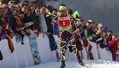 Fourcade poprvé v kariéře ovládl SP biatlonistů