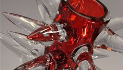 Václav Havel navrhl vázu. Teď se bude dražit