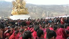 Tibeťané zavraždili prominentního mnicha, který jednal s Pekingem