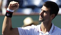 Obhájce titulu Djokovič je v Indian Wells v semifinále