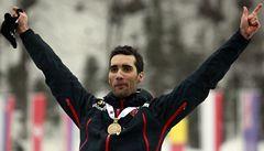 Fourcade si pojistil triumf v biatlonovém sprintu