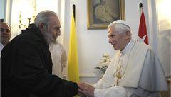 Papež se sešel s Fidelem, žádal svobodu vyznání