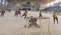 Hokejisté začali přípravu na MS bez Čáslavy a Veselého