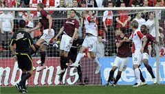 Slavia obrala Spartu o body. Vybojovala remízu 1:1