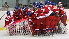 Podívejte se, hokejistky slaví postup na MS