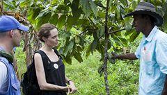 Angelina Jolie navštívila Ekvádor jako vyslankyně OSN