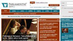 Parlamentní listy nejsou náš web, brání se sněmovna