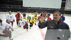 Hokejová reprezentace zahájila v Praze přípravu na mistrovství světa