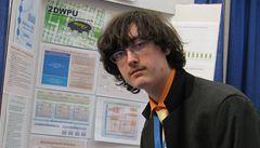 Český student skončil ve světové vědecké soutěži čtvrtý