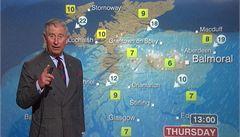 Princ Charles si v BBC zahrál na rosničku