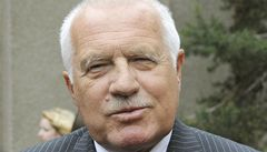 Klaus o vyšších daních: Doufám, že u poslanců zvítězí zdravý rozum