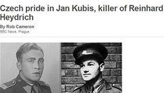 Česká pýcha. BBC si všímá výročí atentátu na Heydricha