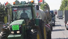 Zemědělci kvůli zelené naftě vyjeli na silnice