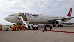 Stávkující Turkish Airlines ruší víc než sto letů, včetně Prahy