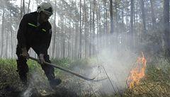 Kvůli suchu, hrozí požáry, varují meteorologové