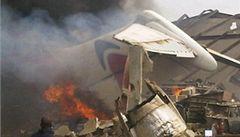 V Nigérii se zřítilo letadlo na dvoupatrový dům, 153 lidí zemřelo