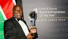 Světovým podnikatelem roku je africký bankéř Mwangi
