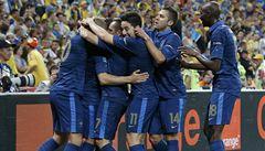 Francie zlomila sérii bez výhry a porazila Ukrajinu 2:0