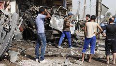 Irák zasáhla vlna násilí: desítky mrtvých, stovky zraněných
