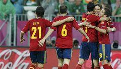 Španělé rozdrtili Iry. Dvakrát se trefil Torres