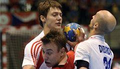 Házenkáři prohráli v kvalifikaci ME v Černé Hoře o gól