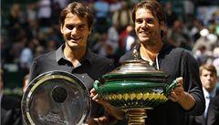 Federer v Halle padl až ve finále s domácím Haasem