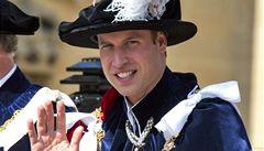 Princ William se vrátil do školy, dojíždí na kurz do Cambridge