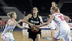 Boj o olympiádu: Basketbalistky mají blízko čtvrtfinále
