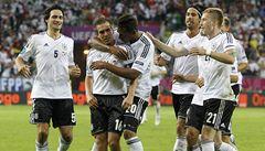 Němci porazili Řeky 4:2 a zahrají si semifinále