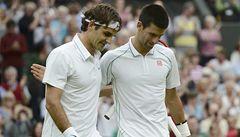 Rivalita ožívá hned dvakrát. Federer vyzve Djokoviče, Becker Edberga