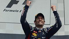 Formule má nového lídra: Webber předstihl Alonsa