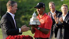 Woods vyhrál turnaj v Bethesdě a předčil Nicklausův výkon