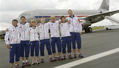 Do Londýna odletěli první čeští sportovci i Hilgertová