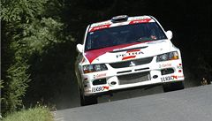Na Rallye Bohemia zemřel navigátor Ceplecha