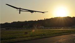 Solar Impulse přistál po dvou měsících ve Šýcarsku