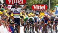 Spurtér Cavendish ovládl 18. etapu. Pomáhal mu lídr Wiggins