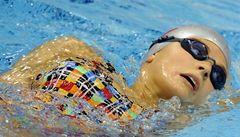 Český rekord na 100 metrů: Plavkyně Baumrtová postoupila do semifinále
