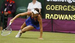 Radwaňská na kolenou. Finalistka Wimbledonu vypadla v 1. kole