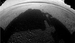 Curiosity poslalo další snímky z Marsu