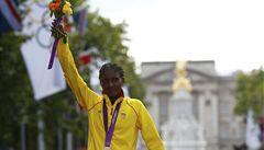 Maraton za 2:23. Etiopanka Gelanaová slaví zlato