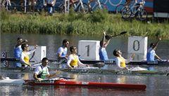 Češi na hrách: Kajakáři rozšířili medailovou sbírku
