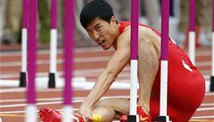 Olympijské šance Liou Sianga opět nepřežily ani rozběh