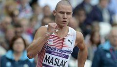Maslák posunul český rekord v běhu na 200 metrů