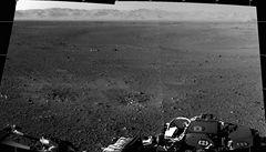 Curiosity poslalo další snímky z Marsu, podívejte se