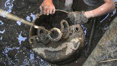 Archeologové objevili unikátní cisternu, na vyzvednutí čekala léta