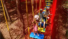 Brněnská zoo má novinku - lanové centrum pro děti