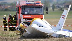 Na Opavsku havarovalo vyhlídkové letadlo, dva muži nepřežili
