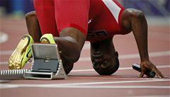 Stříbrný sprinter po OH změnil sport. Bude hrát americký fotbal