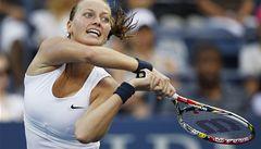 Kvitová postoupila na US Open do druhého kola