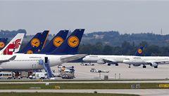 Lufthansa bude v pondělí stávkovat, zruší i 26 spojů s Prahou